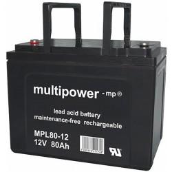 Multipower Long-Life Bleiakku - MPL80-12 - 80Ah_12454
