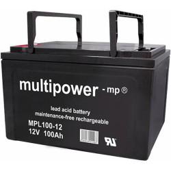 Multipower Long-Life Bleiakku - MPL100-12 - 100Ah_12455