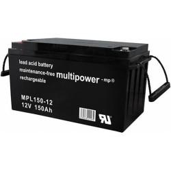 Multipower Long-Life Bleiakku - MPL150-12 - 150Ah_12457