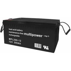 Multipower Long-Life Bleiakku - MPL200-12 - 200Ah_12458