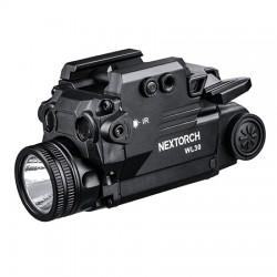 NEXTORCH WL30 Laser-Licht Modul Waffenlampe mit grünem und IR Laser_12512