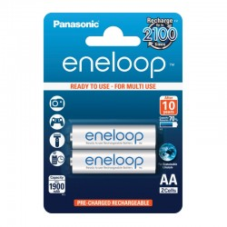 Panasonic eneloop AA - 1900mAh - Packung à 2 Stk._12519