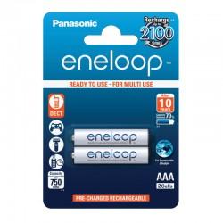 Panasonic eneloop AAA - 750mAh - Packung à 2 Stk._12520