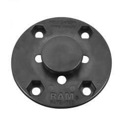 RAM MOUNTS Runde Basisplatte mit Knopf_12558