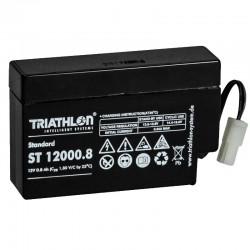 Triathlon Standard Bleiakku - ST12000.8 - 12V - 0.8Ah_12589