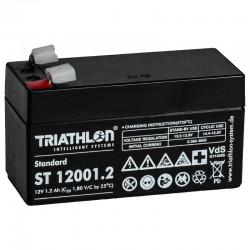 Triathlon Standard Bleiakku - ST12001.2 - 12V - 1.2Ah_12590