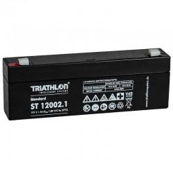 Triathlon Standard Bleiakku - ST12002.1- 12V - 2.1Ah_12591