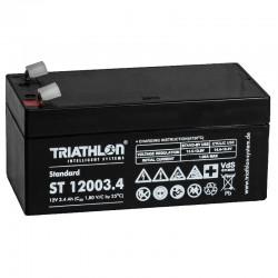 Triathlon Standard Bleiakku - ST12003.4 - 12V - 3.4Ah_12592