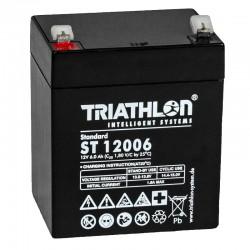 Triathlon Standard Bleiakku - ST12006 - 12V - 5.8Ah_12593