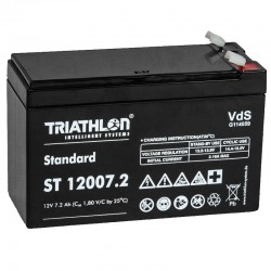 Triathlon Standard Bleiakku - ST12007.2 - 12V - 7.2Ah (Faston 6.3mm)_12595