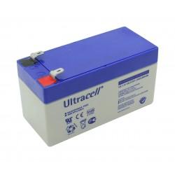 Ultracell Standard Bleiakku - UL1.3-12 - 12V - 1.3Ah_12615