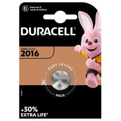 Duracell Knopfzelle - 2016 - Packung à 2 Stk._12630