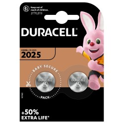 Duracell Knopfzelle - 2025 - Packung à 2 Stk._12631