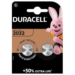 Duracell Knopfzelle - 2032 - Packung à 2 Stk._12632