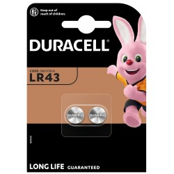 Duracell Knopfzelle - LR43 - Packung à 2 Stk._12638