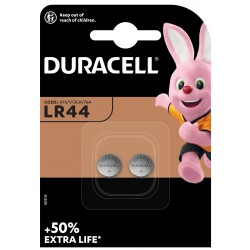 Duracell Knopfzelle - LR44 - Packung à 2 Stk._12639