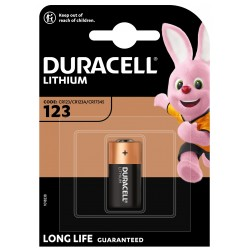 Duracell Fotobatterie - 123 - Packung à 1 Stk._12647