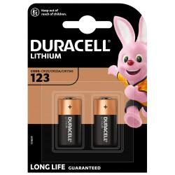 Duracell Fotobatterie - 123 - Packung à 2 Stk._12648