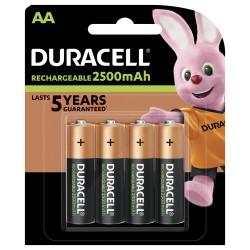 Duracell Konsumerakku - AA (2500mAh) - Packung à 4 Stk._12695