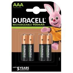 Duracell Konsumerakku - AAA (900mAh) - Packung à 4 Stk._12696