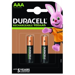 Duracell Konsumerakku - AAA (900mAh) - Packung à 2 Stk._12697