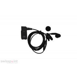 Ohrhörer mit Mikrofon und PTT mit 90° Stecker_1805