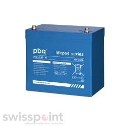 pbq Lithium-Akku LiFePO4 LF 60-12 - 12.8V - 60Ah_410