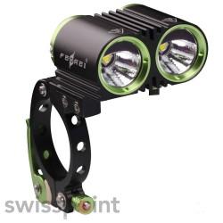 FEREI BL800F Bike-/Fahrradlicht, Farbe: schwarz & grün_580