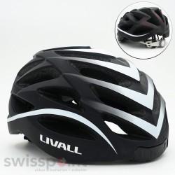LIVALL BH62 Fahrradhhelm, Farbe: schwarz & weiss_598