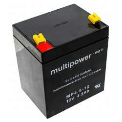 Multipower Standard - MP4.5-12 - 12V - 4.5Ah_725