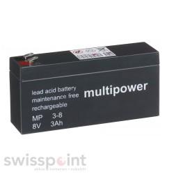 Multipower Standard - MP3-8 - 8V - 3Ah_731