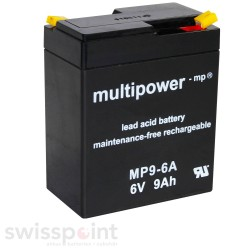 Multipower Standard - MP9-6A - 6V - 9Ah_734