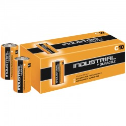 Duracell INDUSTRIAL - C - Packung à 10 Stk._86