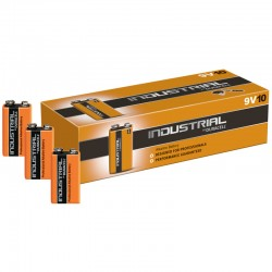Duracell INDUSTRIAL - 9V - Packung à 10 Stk._88
