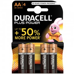 Duracell PLUS POWER - AA - Packung à 4 Stk._9827