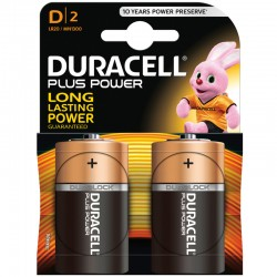 Duracell PLUS POWER - D - Packung à 2 Stk._9828