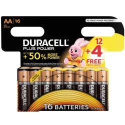 Duracell PLUS POWER - AA - Packung à 12 + 4 Stk._9831