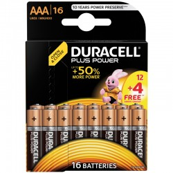 Duracell PLUS POWER - AAA - Packung à 12+4 Stk._9832