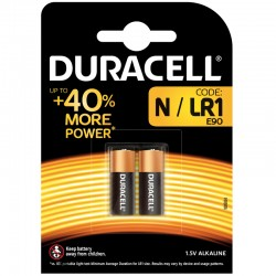 Duracell security - N, LR1, MN9100 (Lady) - Packung à 2 Stk. 1.5V Alkaline 28.1 x 11.83ø_9836