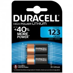 Duracell Fotobatterie - 123 - Packung à 2 Stk._9839