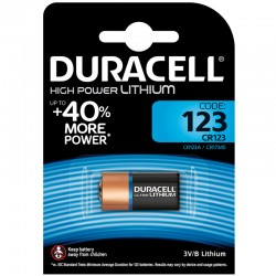 Duracell Fotobatterie - 123 - Packung à 1 Stk._9842