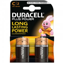 Duracell PLUS POWER - C - Packung à 2 Stk._9851