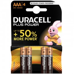 Duracell PLUS POWER - AAA - Packung à 4 Stk._9852