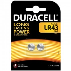 Duracell Knopfzelle - LR43 - Packung à 2 Stk._9854