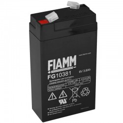 Fiamm Standard Bleiakku - FG10381 - 6V - 3.8Ah_9894