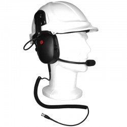 TITAN Heavy Duty Kapselgehörschutz Headset - Hytera PD7-Serie_9926