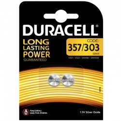 Duracell Knopfzelle - 357/303 - Packung à 2 Stk._9933