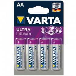 Varta Ultra Lithium - AA - Packung à 4 Stk._9954