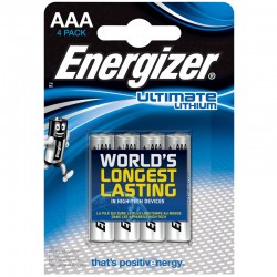 Energizer Ultimate Lithium - AAA - Packung à 4 Stk._9956