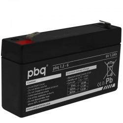 pbq Standard Bleiakku 1.2-6 - 6V - 1.2Ah / T1_9957